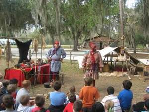 Learning History at Fort Christmas Museum & Park