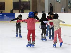 Ice skating lessons