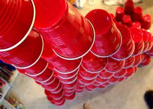 red cup tower