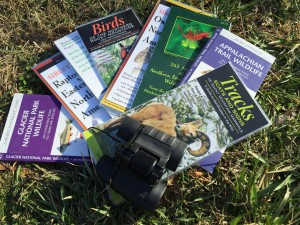Simple laminated field guides